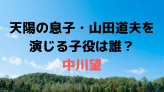 「なつぞら」天陽(吉沢亮)の息子・山田道夫を演じる子役は中川望